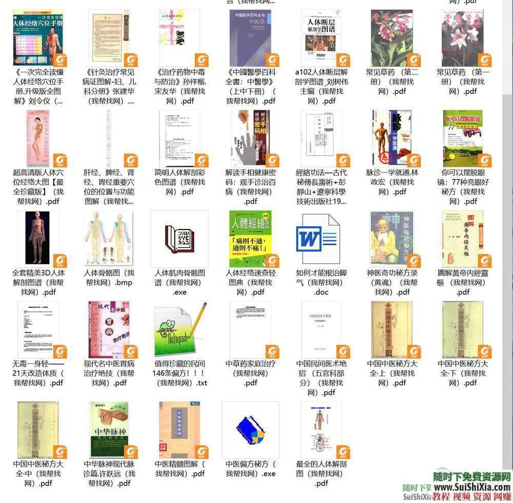 人體穴位拔罐養生書籍與經驗中醫知識  打包分享一些中醫知識人體穴位拔罐養生類電子書籍和經驗圖片給大家 第2張
