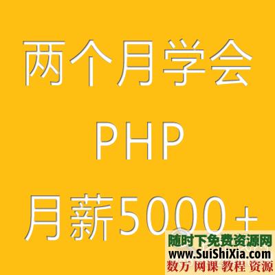 最全兩個月學會PHP入門到精通視頻+電子書籍教程 [編號582246] 第1張