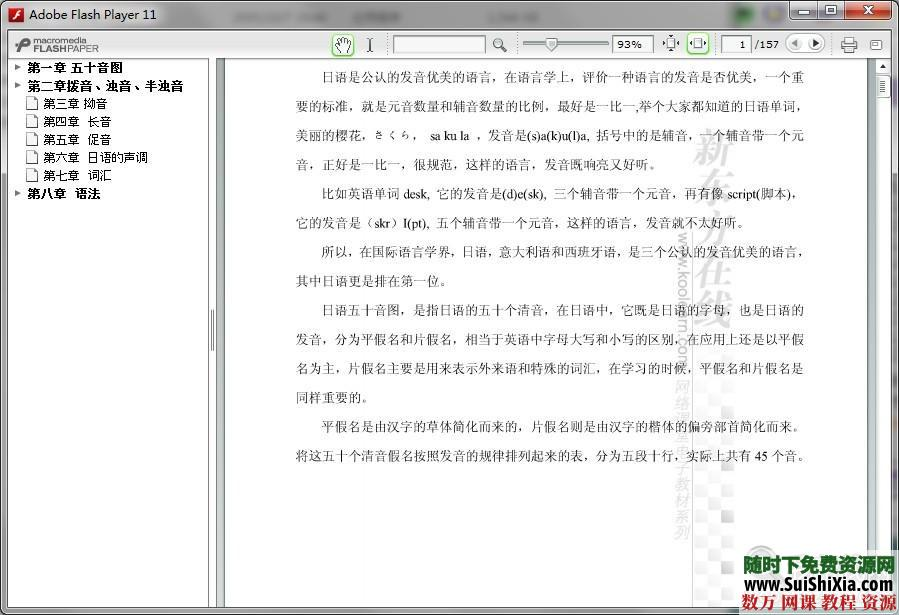 30天學會日語視頻,pdf電子書籍全套教程 第4張