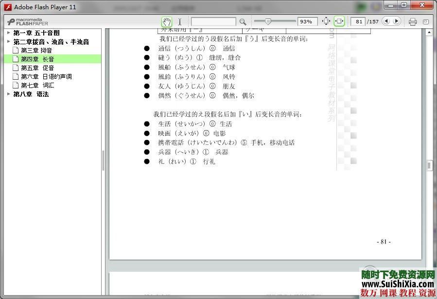 30天學會日語視頻,pdf電子書籍全套教程 第5張