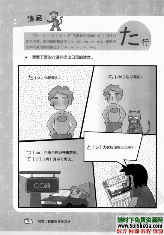 日語單詞書籍+日語50音圖發音教學軟件 第3張
