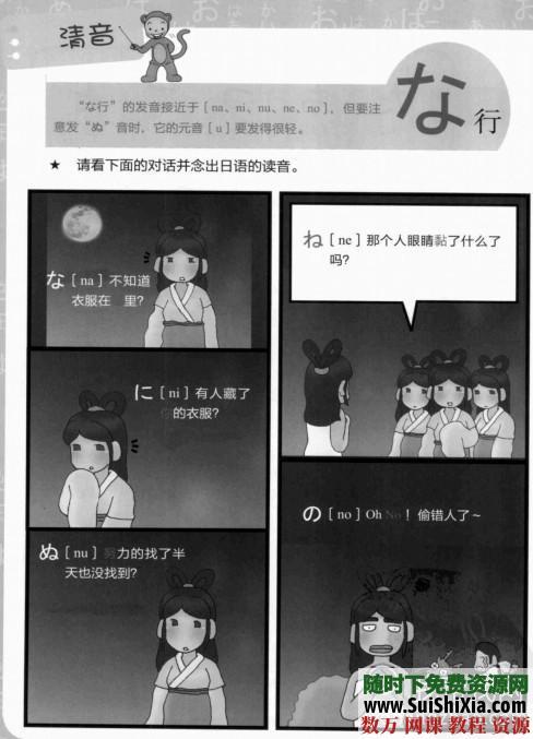 日語單詞書籍+日語50音圖發音教學軟件 第5張