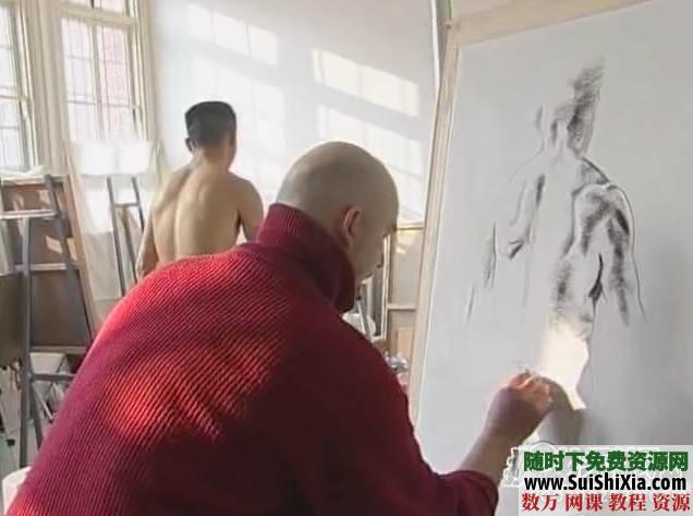 列賓美院內部高級繪畫教程 第6張