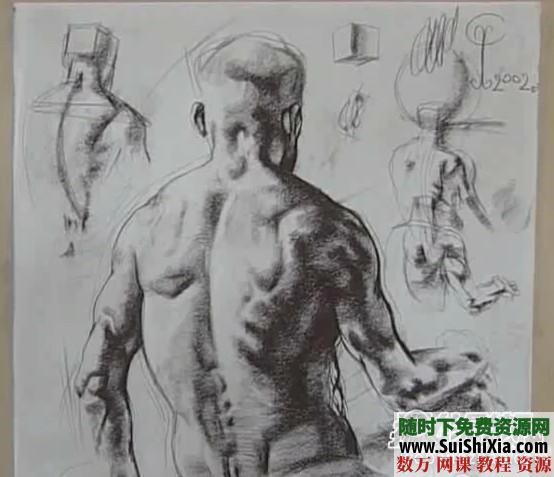 列賓美院內部高級繪畫教程 第8張