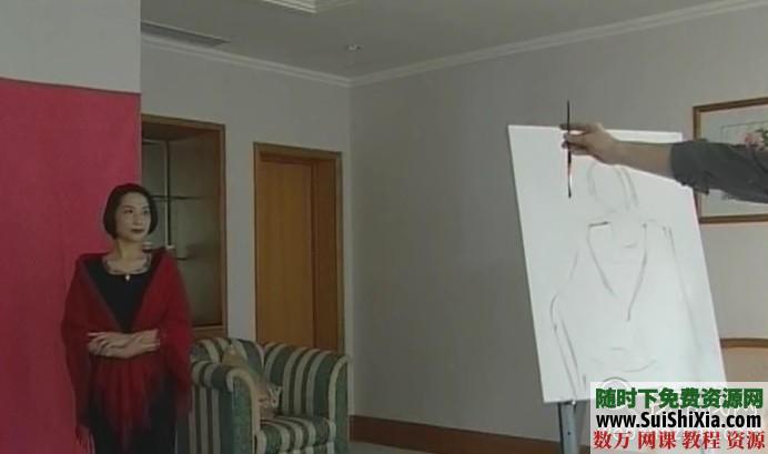 列賓美院內部高級繪畫教程 第13張