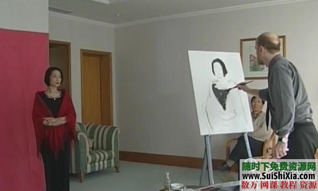 列賓美院內部高級繪畫教程 第14張
