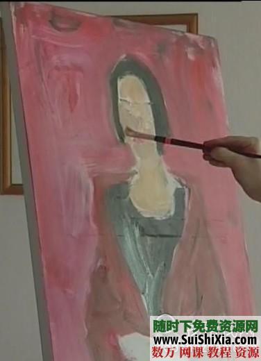 列賓美院內部高級繪畫教程 第15張