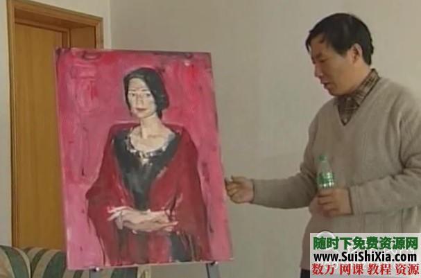 列賓美院內部高級繪畫教程 第16張