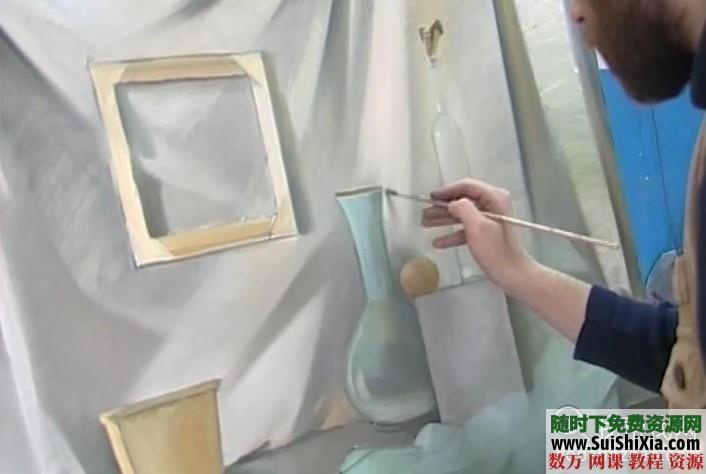 列賓美院內部高級繪畫教程 第20張