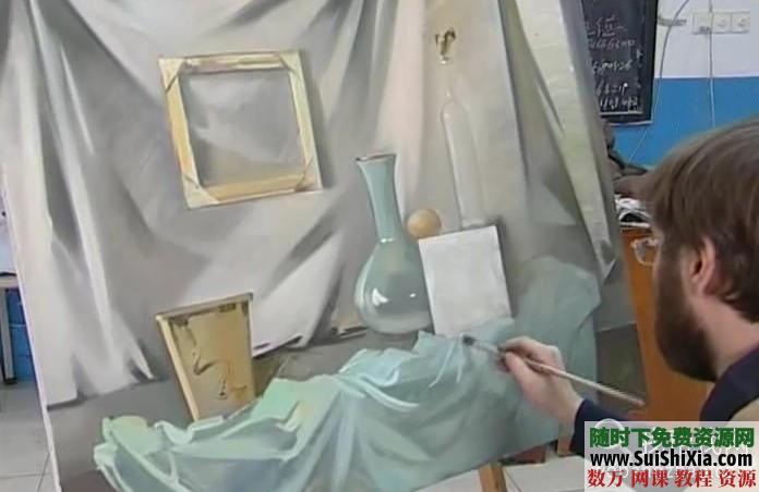 列賓美院內部高級繪畫教程 第21張