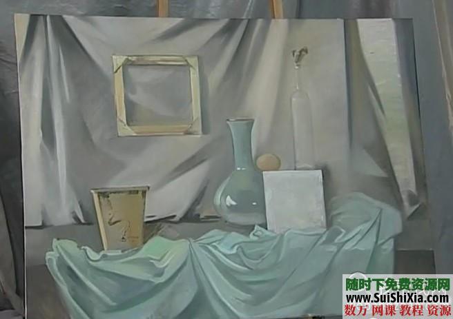 列賓美院內部高級繪畫教程 第22張