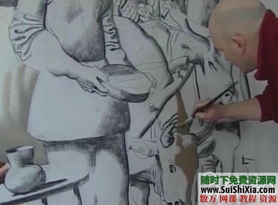 列賓美院內部高級繪畫教程 第25張