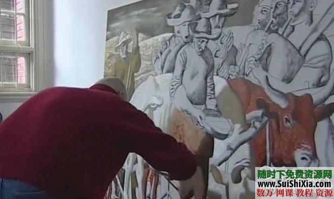 列賓美院內部高級繪畫教程 第26張