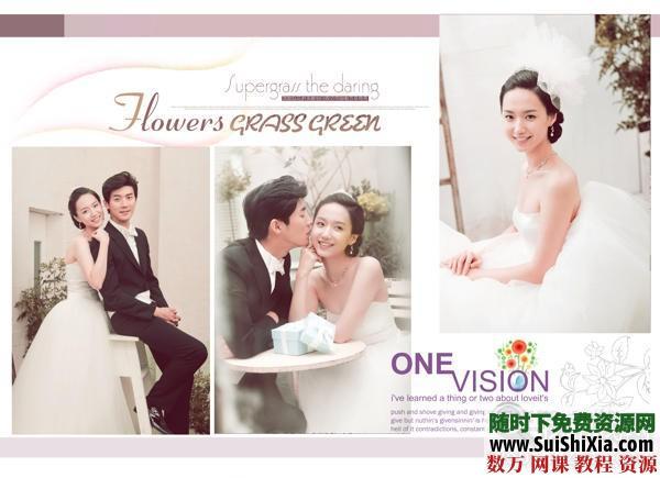 【韓式幸福】婚紗模板素材10PSD 第4張