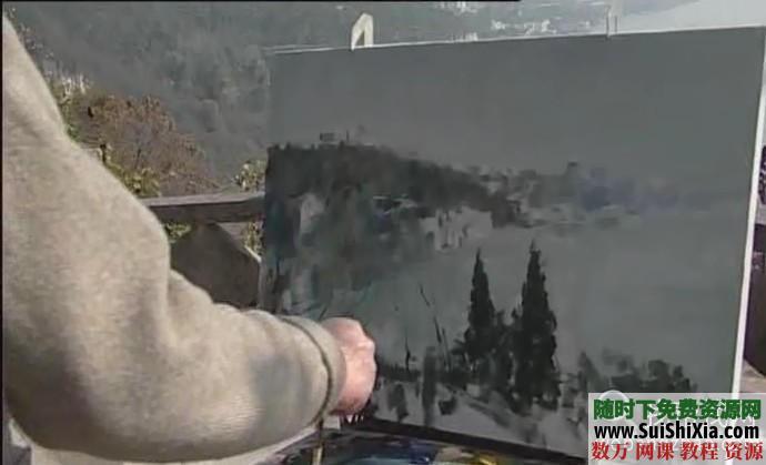 列賓美院內部高級繪畫教程 第30張