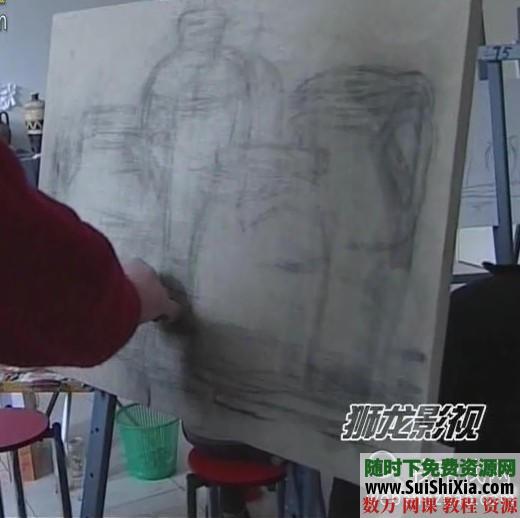列賓美院內部高級繪畫教程 第35張
