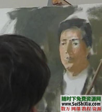 列賓美院內部高級繪畫教程 第37張