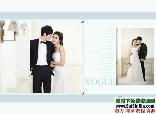 【時尚主流】婚紗模板素材13PSD 第1張