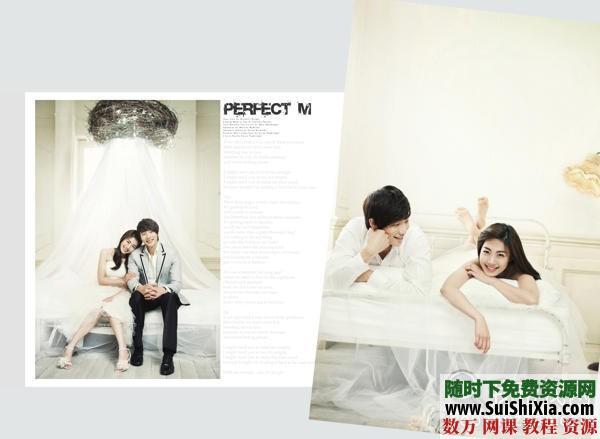 【時尚主流】婚紗模板素材13PSD 第3張