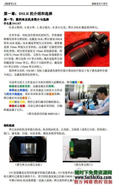 攝影教程精品電子書籍PDF版打包 第2張