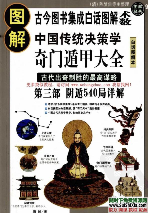 [圖解]奇門遁甲精品學習書籍教程3本合集下載 第7張