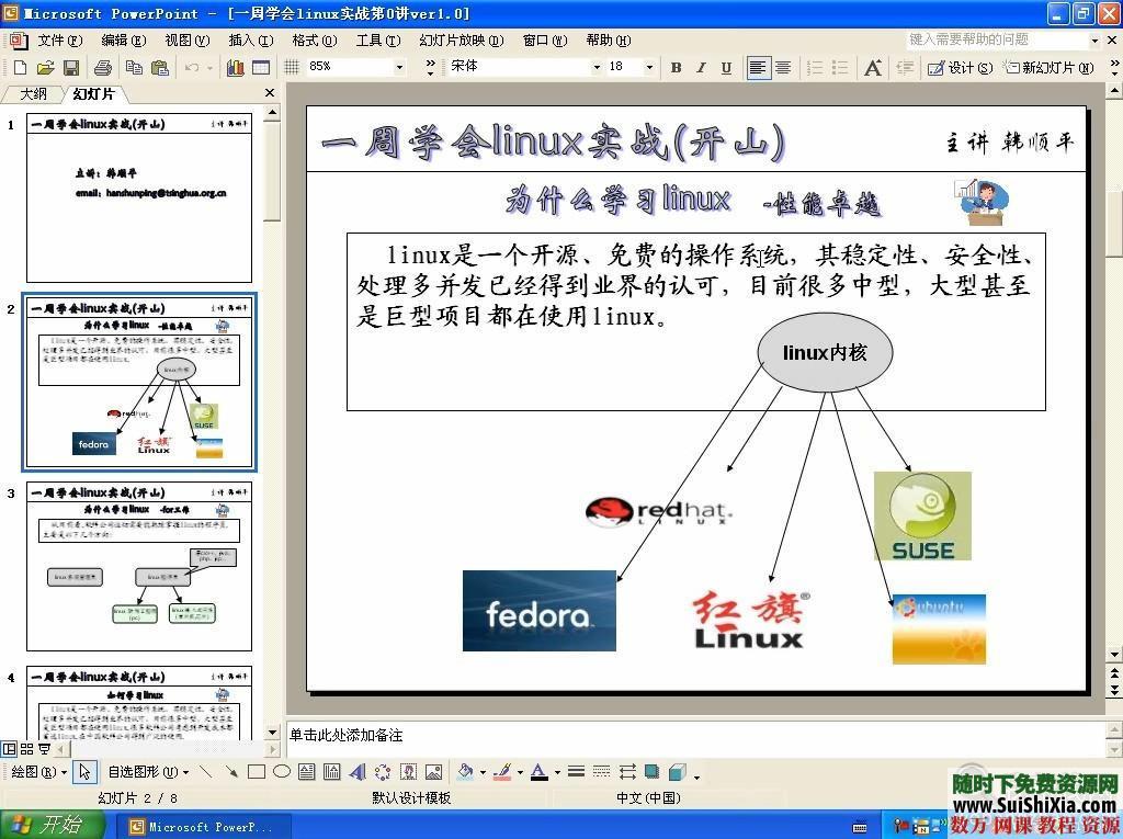 韓順平7天學會linux視頻教程(高清)21集 第2張