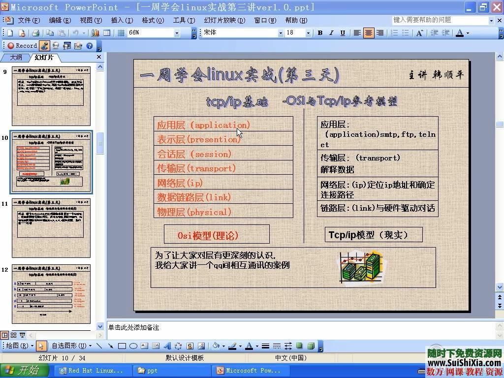 韓順平7天學會linux視頻教程(高清)21集 第6張