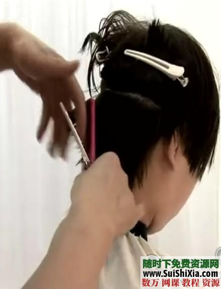 2014最新美容剪發燙發技術視頻教程9全集 第3張