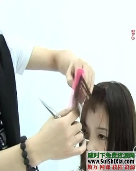 2014最新美容剪發燙發技術視頻教程9全集 第10張