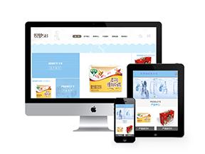 健康食品生物科技通用企業網站織夢模板(帶手機端)