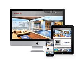 響應式家裝網站模板 家裝網站定制 裝飾家裝網站源碼下載