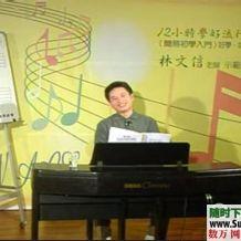 林文信12小时学会音乐流行键盘【基础教程】和【应用曲谱】全套
