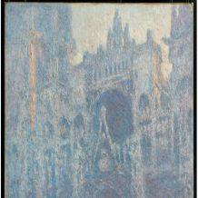 莫奈鲁昂大教堂系列油画