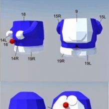 一些简单的3D纸模图片、PDF素材