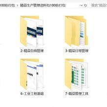 精益生产管理资料包100份打包