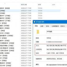 打包56G流行音乐MV视频1300个含抖音最火、韩国性感、经典珍藏、流行老歌等