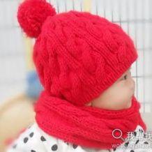漂亮麻花帽子编织方法完整版_棒针(高清)
