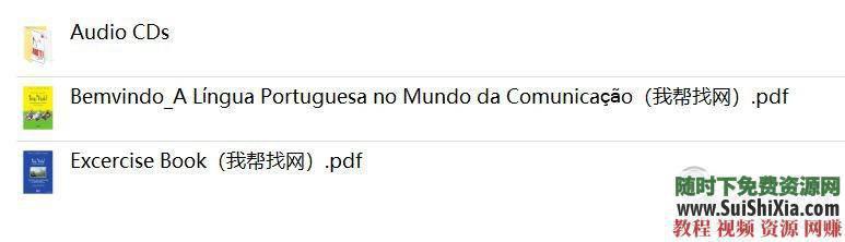 零基础入门0-A1-A2-B1高级视频教程葡萄牙语+47G葡语资料  最强干货,没有之一!葡萄牙语零基础入门0-A1-A2-B1高级视频教程+47G葡语资料赠品 第10张