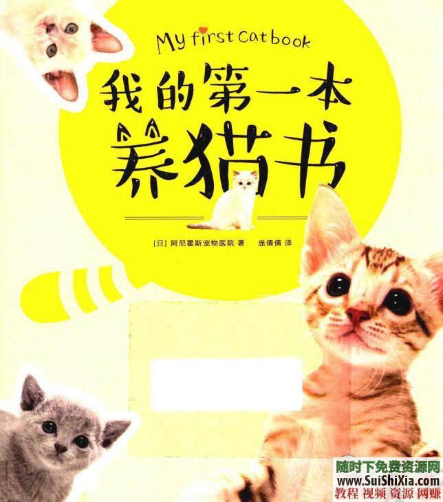 宠物猫饲养技术 养猫攻略+技巧教程+猫病经验PDF书籍  养猫攻略技巧教程宠物猫饲养技术猫病经验PDF书籍打包 第6张