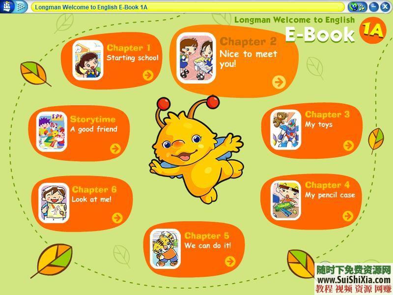 练习册pdf+MP3+ebook Longman Welcome to English 香港朗文1~6年级教材  香港朗文1~6年级教材【练习册pdf+MP3+ebook】WTE(Longman English) 英语学习 第2张