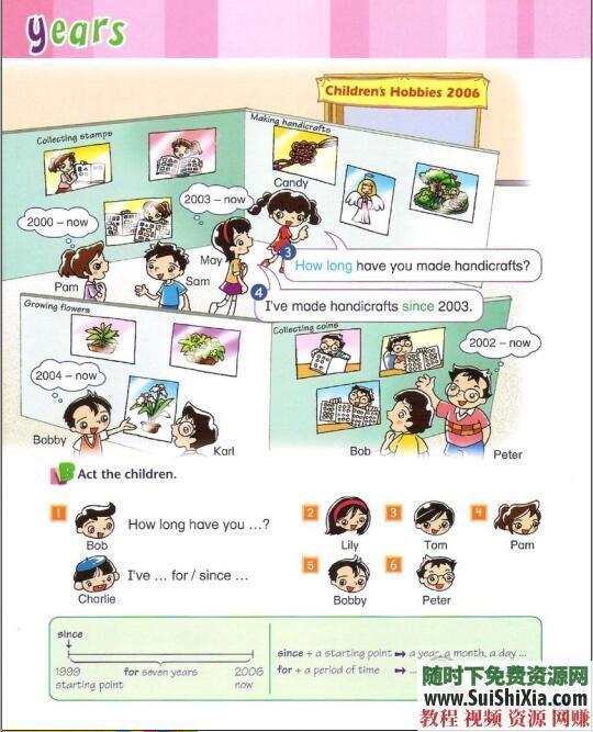 练习册pdf+MP3+ebook Longman Welcome to English 香港朗文1~6年级教材  香港朗文1~6年级教材【练习册pdf+MP3+ebook】WTE(Longman English) 英语学习 第13张