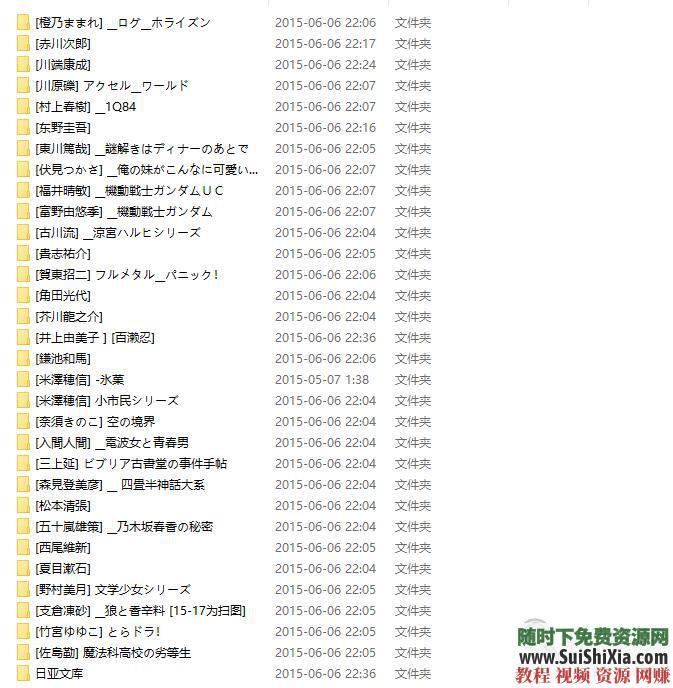 日语原著版小说漫画文学 学日文用Kindle PDF Mobi合集30G  30G学日文用Kindle Mobi日语原著版小说漫画文学合集 第12张