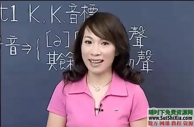 英語音標視頻學習教程全套打包 第1張