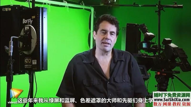绿屏抠像和虚拟影像合成技术视频打包下载(中文翻译) 第1张