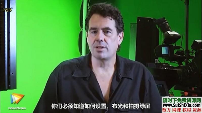 绿屏抠像和虚拟影像合成技术视频打包下载(中文翻译) 第2张