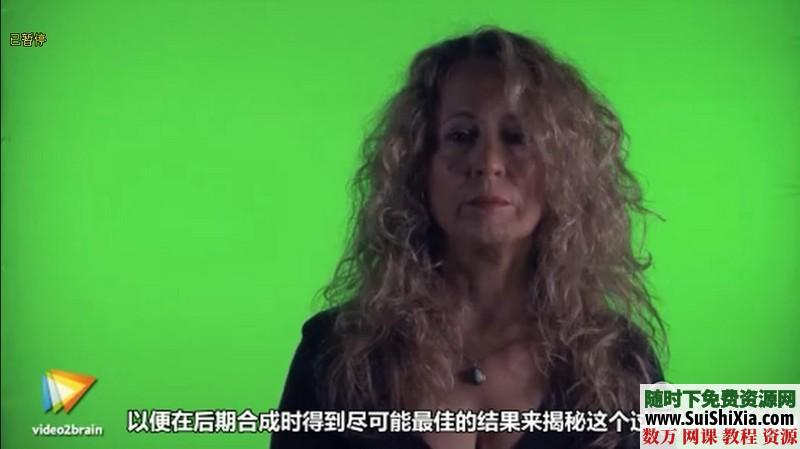 绿屏抠像和虚拟影像合成技术视频打包下载(中文翻译) 第3张