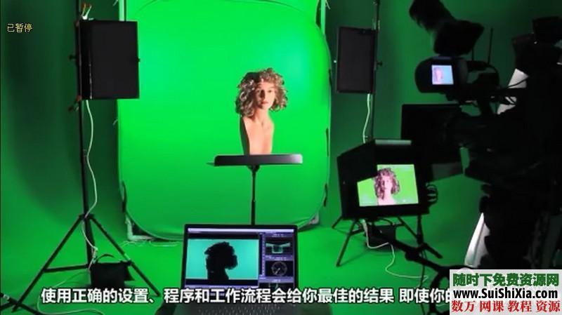 绿屏抠像和虚拟影像合成技术视频打包下载(中文翻译) 第4张