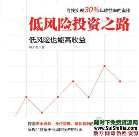 三本投资书《低风险投资之路》《可转债投资魔法书》《一个投资家的20年》打包 电子书 第1张