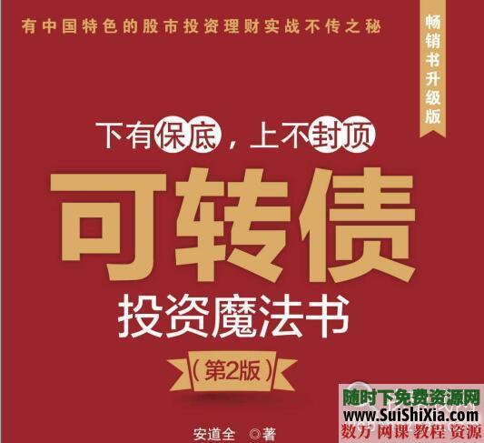 三本投资书《低风险投资之路》《可转债投资魔法书》《一个投资家的20年》打包 电子书 第5张