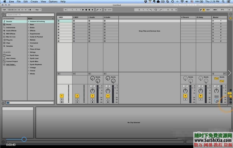 Ableton Live 9和10视频教程共149集(主要是9版本的视频,10版本的较少) 第4张